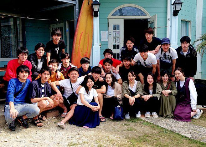 福岡から来ました大学生です!